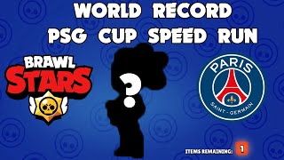 BRAWL STARS WORLD RECORD PSG CUP + CHEST OPENING