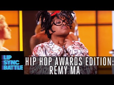 Remy Ma Is Full On Busta Rhyming | Lip Sync Battle: Hip Hop Awards Edition