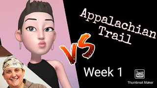 Appalachian trail 2020 week 1!