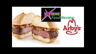 EXTREME Food Review   Arby's NEW Venison Sandwich ONE DAY SPECIAL