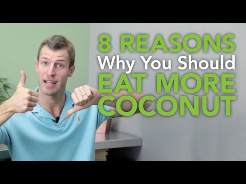 8 Reasons You Should Eat More Coconut | Dr. Josh Axe