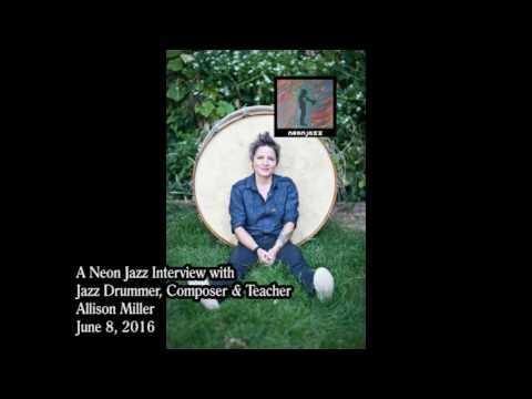 A Neon Jazz Interview with Jazz Drummer, Composer & Teacher Allison Miller
