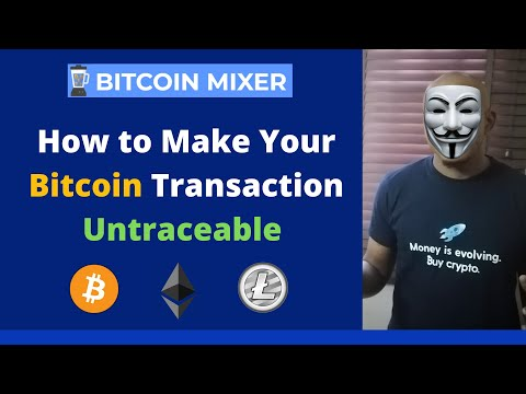 How To Make Your Bitcoin Transactions Untraceable | Completely Anonymous Using BitcoinMixer