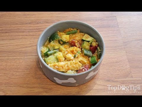 Healthiest Homemade Dog Food With Chicken (Very Simple To Make)