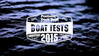 Bennington Pontoon & Deck Boat 2015 Shootout Video: 2575 Qsd