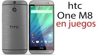 Tus juegos en el HTC One M8