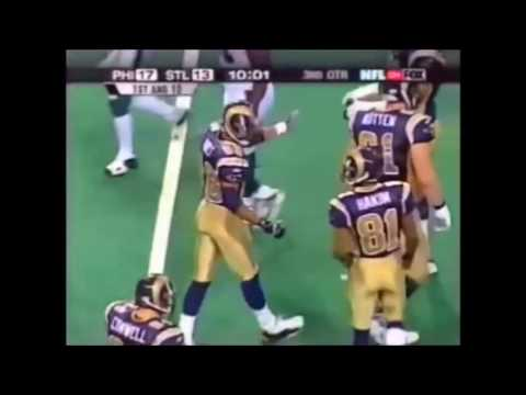 Isaac Bruce & Torry Holt vs Eagles 2002 NFC Championship