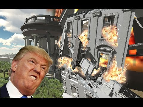 Demolition 3D: White House Destroyed! (featuring Donald Trump & Nuclear Bombs)