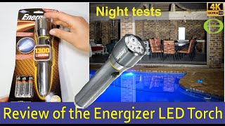 Detailed review of the Energizer Vision HD Focus LED Torch / Flashlight - 1300Lumens PMZH61 screenshot 3