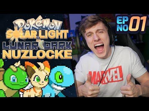 FAKEMON GAME! | Pokemon Solar Light & Lunar Dark Nuzlocke Part 1