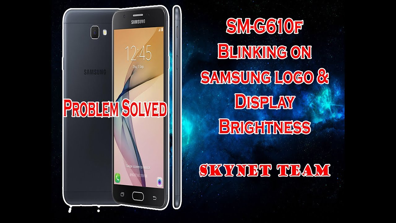 How to Solve  J7 Prime G610F Display Problem Blinking Screen Flickering PROBLEM SOLVED
