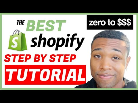 The Best Shopify Tutorial For Beginners 2020 - How To Create A Dropshipping Store With No Money