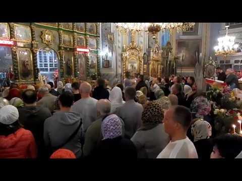 Пасхальное Богослужение, Свято-Озерянский храм, 28 апреля 2019 г