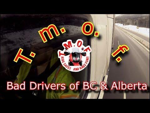 Bad Drivers Of BC & Alberta