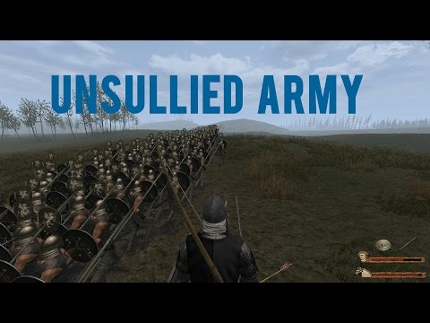 M&B Warband: A Clash Of Kings Unsullied Army