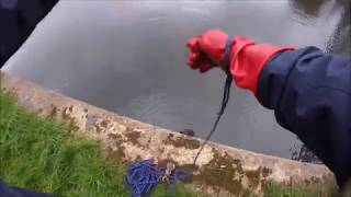 Magnet Fishing  with the 200kg  Neodymium Earth Magnet