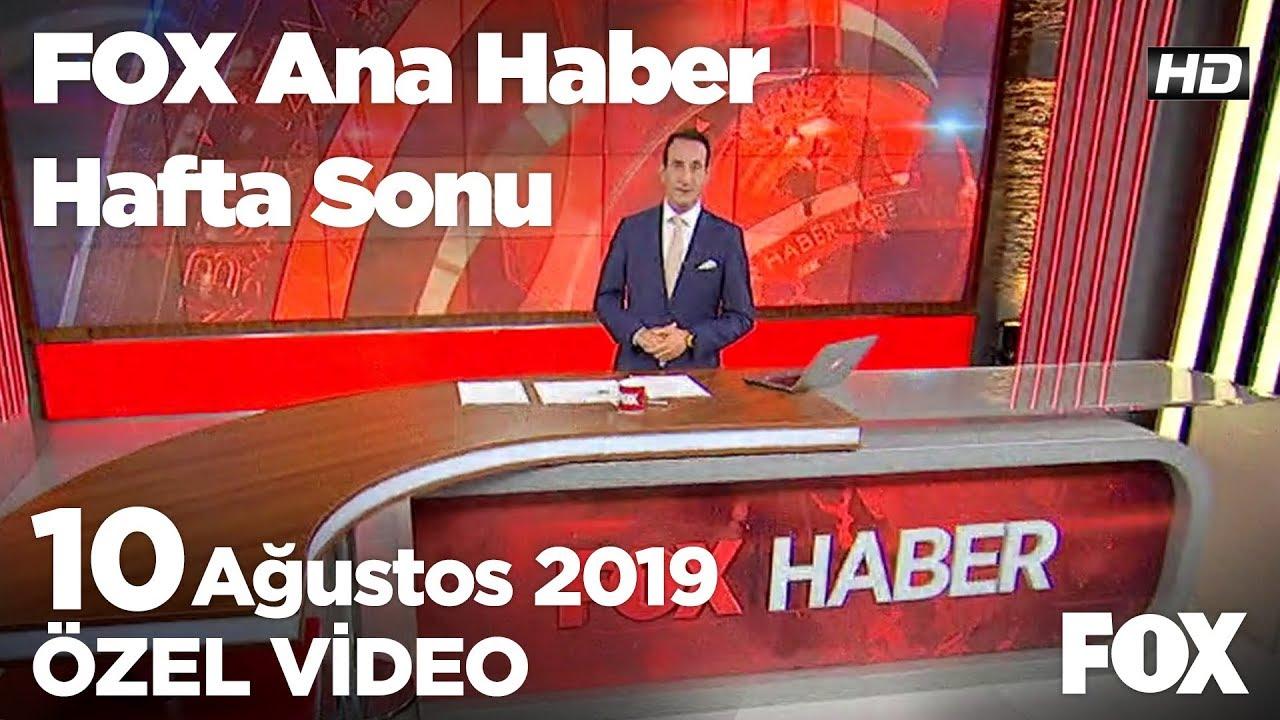 ABD'den teröristlere yeni yardım! 10 Ağustos 2019 FOX Ana Haber Hafta Sonu