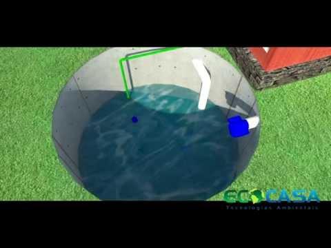 Видео Reutilização de Águas da Chuvas em casa unifamiliar
