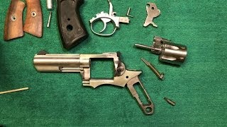 How-To: Ruger GP100 Disassembly
