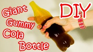 Video DIY Giant Gummy Cola Bottle - How To Make Giant Gummy Coca-Cola Bottle At Home (Recipe) download MP3, 3GP, MP4, WEBM, AVI, FLV Januari 2018