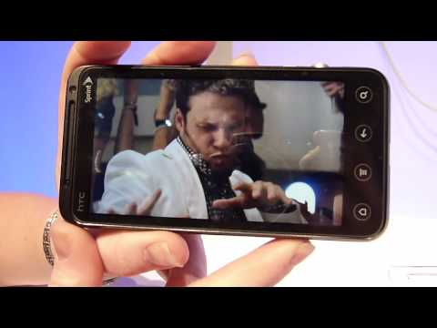 HTC EVO 3D Demonstration