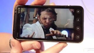 HTC EVO 3D Demonstration