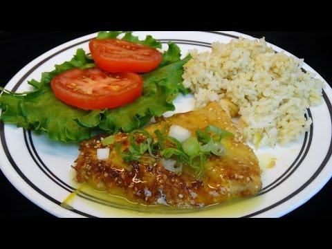 Lemon Sesame Chicken - with yoyomax12