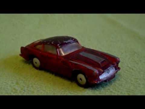 Corgi Toys 1963 Aston Martin DB 4 Barn Find Diecast Cars