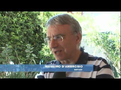 Il notaio Massimo d'Ambrosio al telegiornale di TV6 sulla Associazione Notai Cattolici  (AINC)