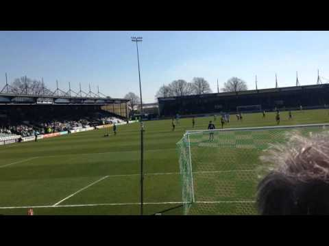 Yeovil Stewards causing trouble with Newport fans