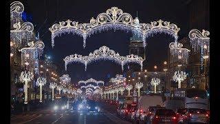 Красиво украшен Санкт-Петербург(, 2017-12-24T16:29:40.000Z)