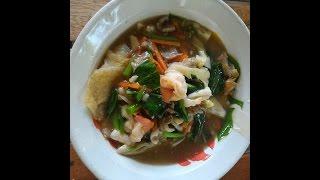 ราดหน้า เส้นทอดไข่ สูตรทำกินเองที่บ้าน,Thai food.