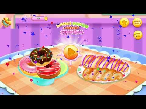 Donut Maker Dessert Cooking Kitchen