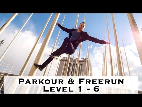 Parkour & Freerunning lernen - Level 1 bis 6 ( deutsch )
