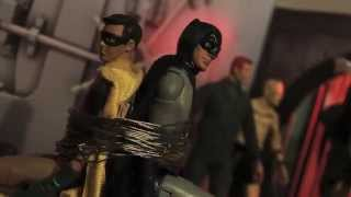 STOP-MOTION ADAM WEST BATMAN & ROBIN Vs THE JOKER - Action Figure ANIMATION