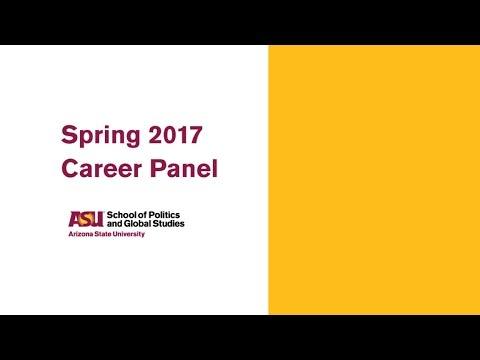 SPGS Career Panel