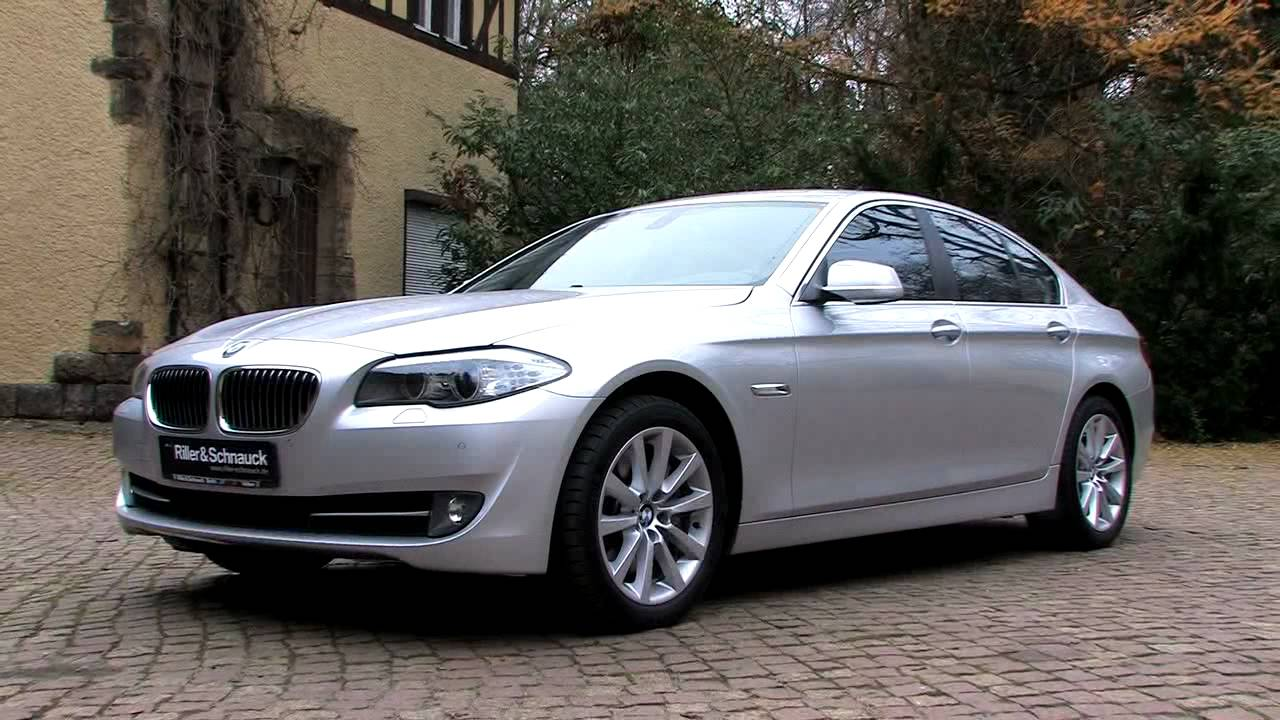 bmw 525d limousine f10 effizient und sportlich als jahreswagen youtube. Black Bedroom Furniture Sets. Home Design Ideas