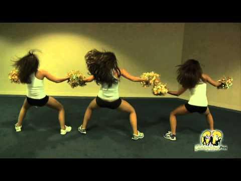Choreography Pro & Warrior Girl Sam's Pro Dance/Cheer Sideline #1 to Smokey-What Girls Like
