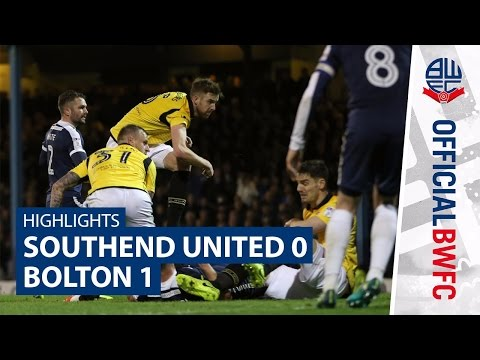HIGHLIGHTS   Southend 0-1 Bolton