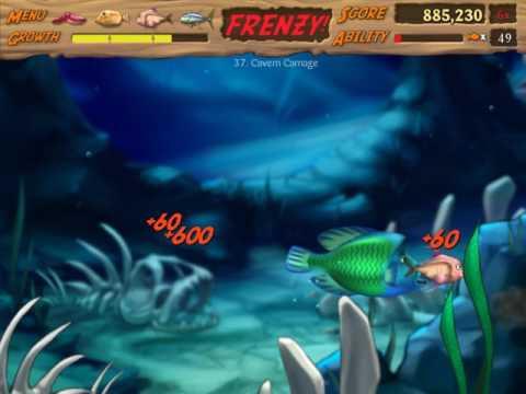 Feeding Frenzy 2 #37 Cavern Carnage 🎮 James Games