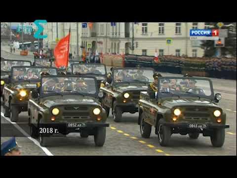 Парады Победы в Екатеринбурге. 2000-2018