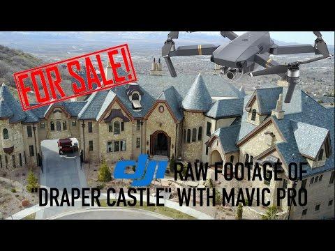 """THE """"DRAPER CASTLE"""" WITH MAVIC PRO 4K"""