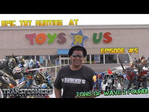 TONS of TF5 WAVE 2 Figures FOUND @ Toys R Us USA!!! [Epic Toy Hunting Episode #5]