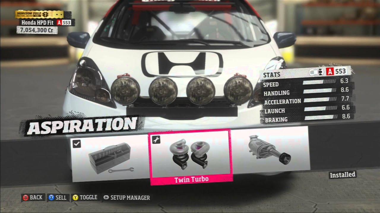 Full Rally Build - Honda Fit HPD Rally - Forza Horizon