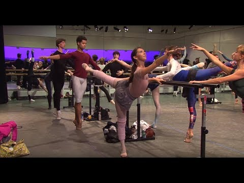 Royal Ballet Class in full - World Ballet Day 2017