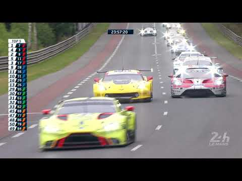 2019 Le Mans 24 Hours | Epic GT-Pro Battle | Ford Vs Aston Martin Vs Corvette