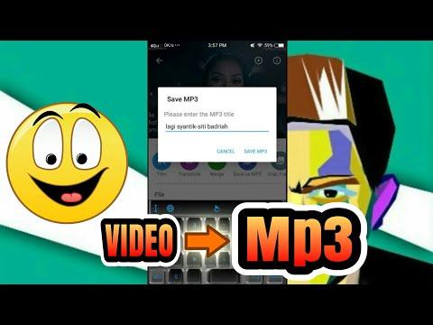 Konversi Video Ke Musik Mp3 (Vidtrim Pro)