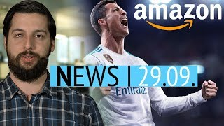Amazon-Streik zu FIFA 18 - Ärger um Skyrim-Survival-Mod - News