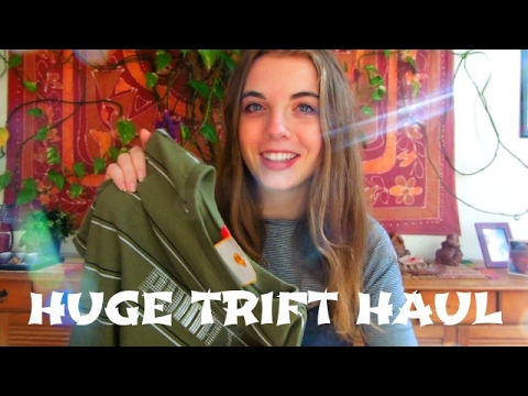 Bargain spring thrift haul | Thrifting in Brussels p2 | Silk, crop top, vintage, sportwear
