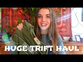 Bargain spring thrift haul | Thrifting in Brussels p2 | Silk, crop top, vintage, sportwear